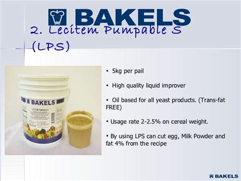 tops  bakels products