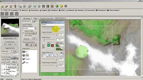 Professional Layout Generator by World Machine Layout Generator For Terrain Modification