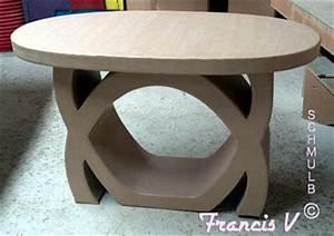 Faire Une Belle Table Pour Recevoir : du carton pour faire une table ~ Melissatoandfro.com Idées de Décoration