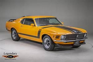 1970 Ford Mustang Boss 302 - Collectible Factory Grabber Orange