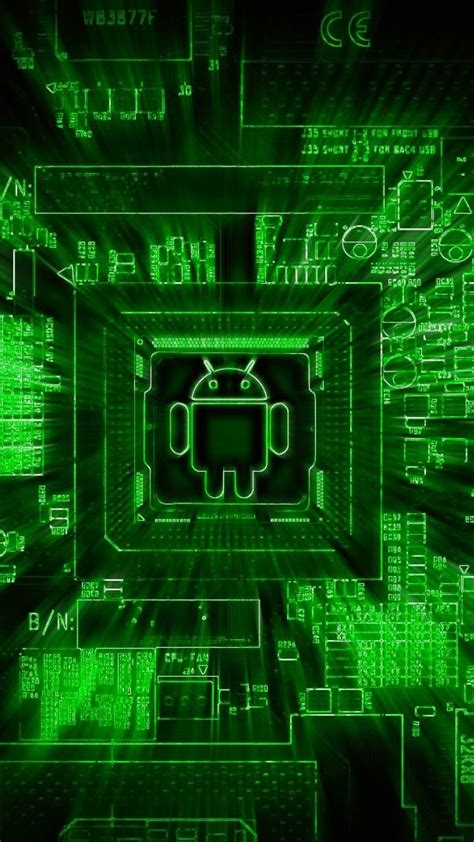 android matrix green wallpaper