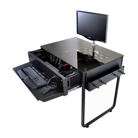 pc bureau silencieux des boîtiers pour pc intégrés dans le bureau eavs