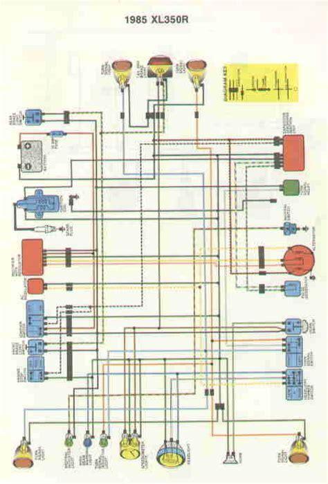 Honda Xl 350 Wiring Diagram by Xr 250 Car Interior Design