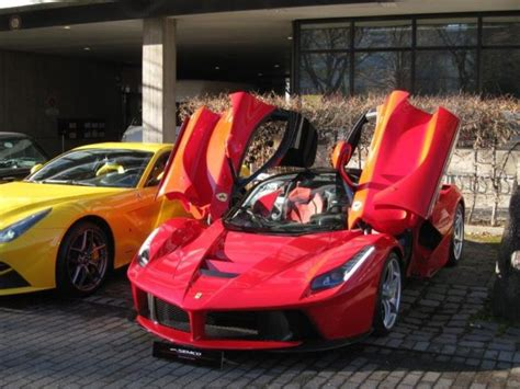 Open sports cars are an integral part of ferrari tradition: The First Ever Made La Ferrari Is Put Up For Sale - Carhoots