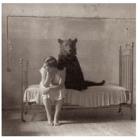 Vintage Photos of Animals In Strange Places