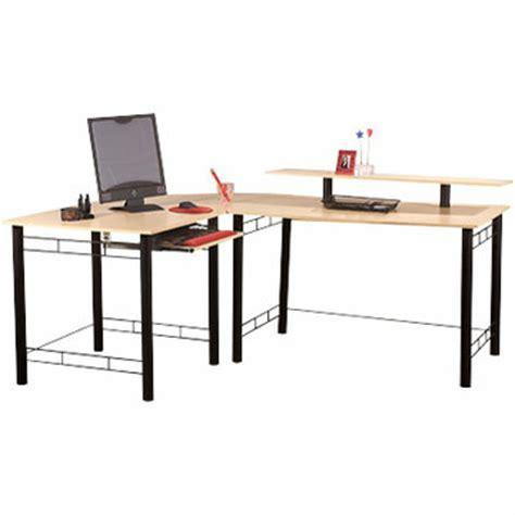 z line computer desk reconfiguring the z line gemini quot l quot computer desk