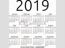 2019 Calendar Canada 2018 calendar printable