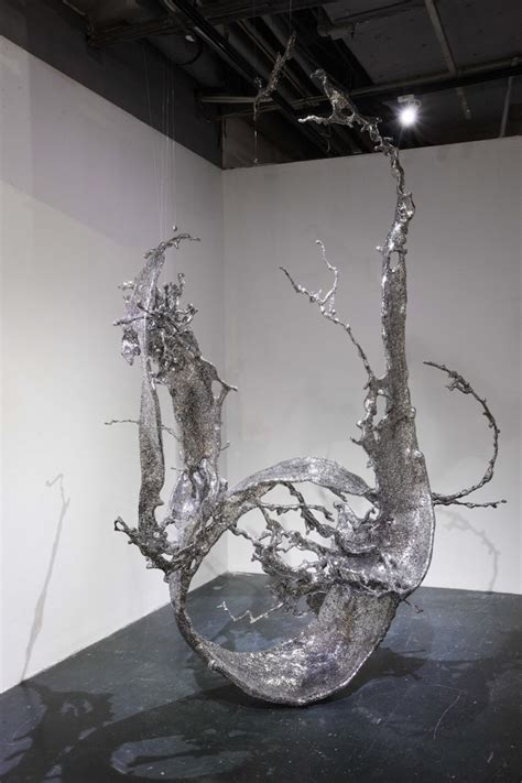 steel sculptures      chinese characters