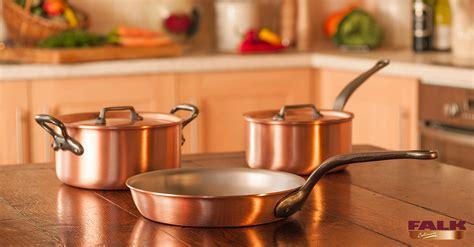 falk classical range single minded set falk copper cookware
