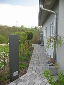 Sichtschutz 1 20 Hoch : stele sichtschutz 110 cm hoch und 50 cm breit mit licht ~ Bigdaddyawards.com Haus und Dekorationen