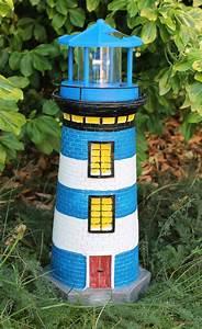 Leuchtturm Für Den Garten : solar leuchtturm blau wei rotierender led reflektor f r den garten am teich 38 ebay ~ Frokenaadalensverden.com Haus und Dekorationen