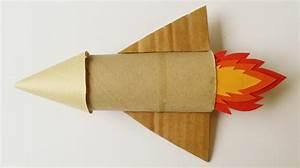 Fabriquer Un Personnage En Carton : une fus e en carton ~ Zukunftsfamilie.com Idées de Décoration
