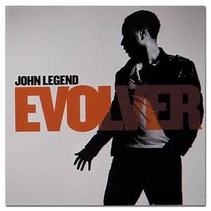 John Legend Evolver Album Cover Sticker | Musictoday ...