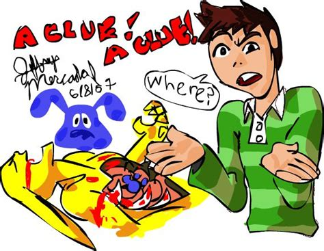 blue s clues by jepmz on deviantart