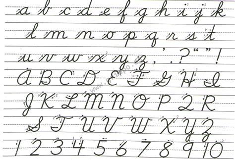 ver imagenes abecedario en cursiva mayuscula y minuscula formas de escrituras letras en