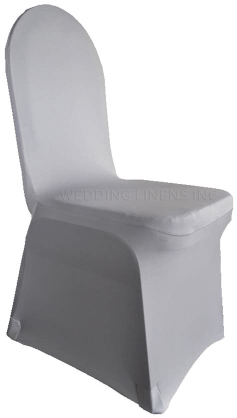 silver spandex stretch banquet chair covers sale