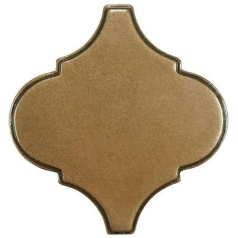 Home Depot Merola Tile Lantern by Merola Tile Contempo Lantern Insert Bronze 3 In X 3 In