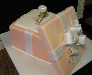 17 best images about cakes for wedding showers on With wedding ring cake