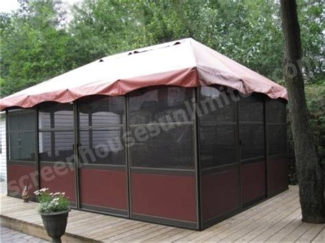 free standing screen room kits square style screened