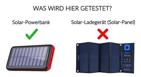 powerbank solar test solar powerbank test die besten solarakkus im vergleich 2019