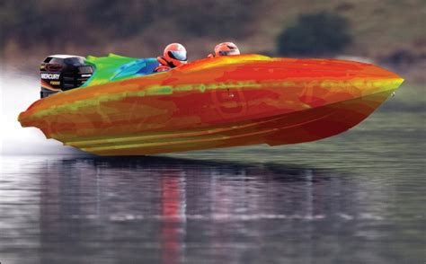 Simulating a World Record Speed Boat > ENGINEERING.com