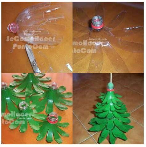 decoraci 243 n de navidad con botellas de pl 225 stico
