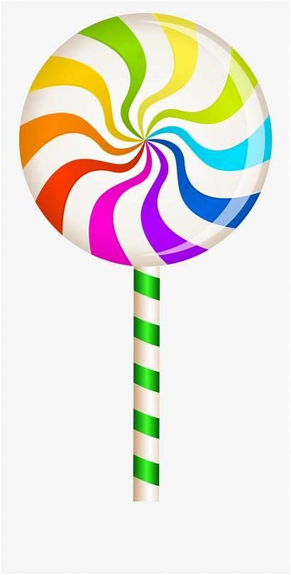 Lollipop Clipart Clip Lollipops Candyland Candy Pirulito