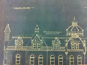 Detail, Side, Elevation, Glenbow, Archives