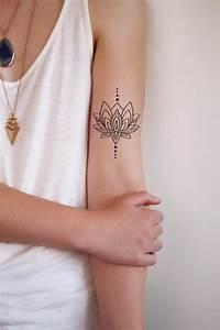 Fleur Lotus Tatouage : 1001 id es de tatouage de fleur et quelle est sa ~ Mglfilm.com Idées de Décoration