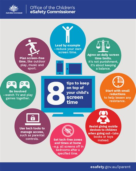 8 tips to keep on top of your child s screen time office of the esafety commissioner