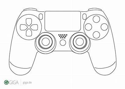 Controller Template Xbox Cake Diagram Templates Fondant