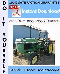 John Deere 2155  2355n Tractors Repair Technical Manual