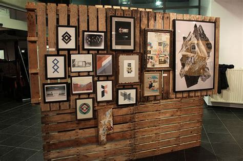 creative   pallets pallet display pallet room