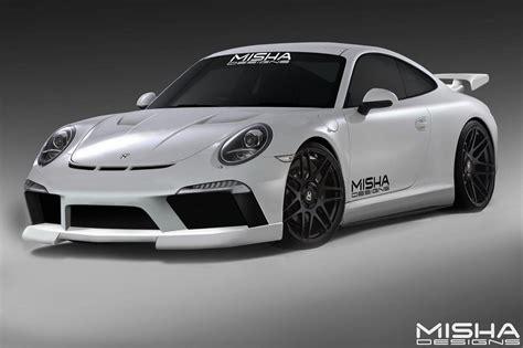 Porsche Cars News 911 Body Kit From Misha Design