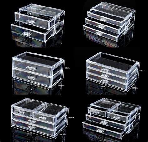 acrylic drawer organizer cosmetic organizer acrylic makeup drawers box jewelry
