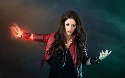 Witch Scarlet Marvel Avengers Cosplay Wallpapers Comics