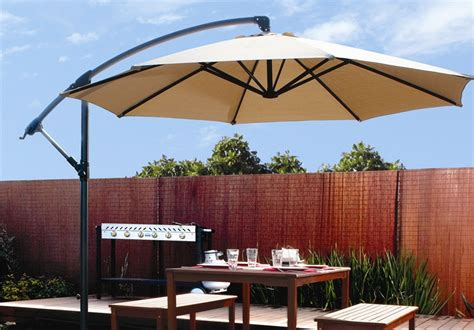 Better Homes And Gardens Offset Patio Umbrella by Stylish And Convenient Cantilever Patio Umbrella