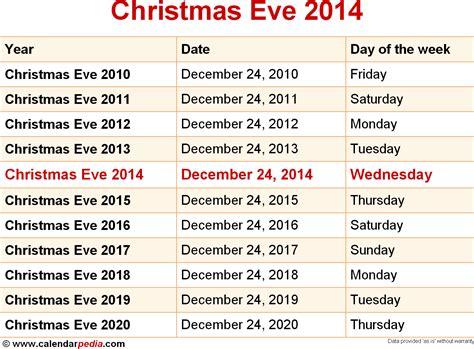 christmas eve date christmas eve