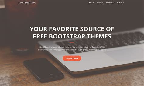 top startup template bootstrap bootstrap landing page template top 40 free landing pages