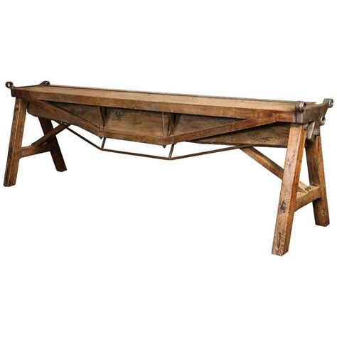 rustic industrial table l rustic antique industrial cast iron steel and wood