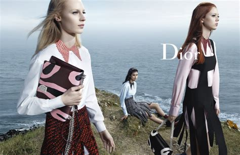 Dior Gets Stormy For Its Fall 2015 Ad Campaign