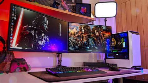 The Best Gaming Setup Wallpapers Wallpaper Cave