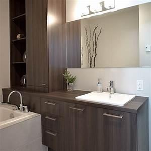 cuisines beauregard salle de bain realisation 305 With salle de bain design avec modele evier cuisine