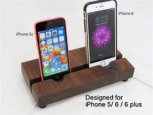 Iphone 4 Dockingstation : the handmade dual docking station for iphone 6 6 plus 5 gadgetsin ~ Sanjose-hotels-ca.com Haus und Dekorationen
