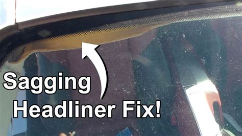 How To Fix Car Ceiling Upholstery by How To Fix Car Interior Roof Fabric Psoriasisguru