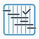 Icon Project Planning Gantt Plan Schedule Workflow