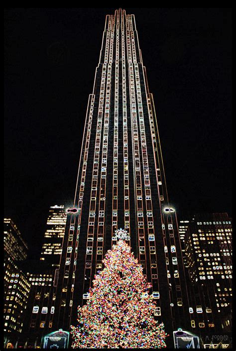 amazing places new york city rockefeller center christmas tree