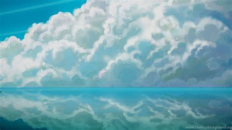 Sky Anime Hd Desktop Wallpapers