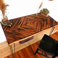 reclaimed wood desk Make Your Office More Eco-Friendly With a Reclaimed Wood Desk