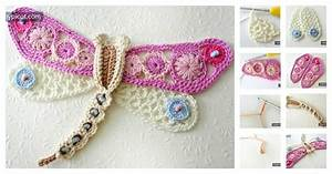 Diy Crochet Dragonfly Diagram And Instructions